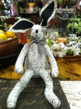 Cornelius Newspaper Bunny