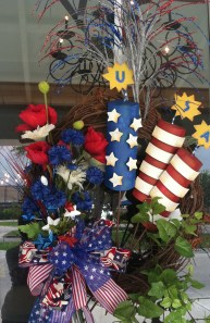 USA Wreath